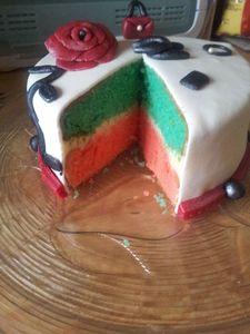 Intérieur Chanel Cake 2