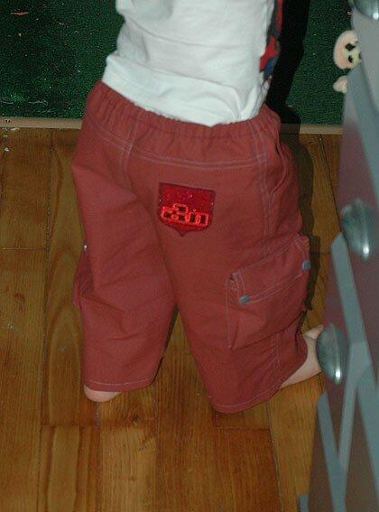 Pantalon de baptême pour Pitoun