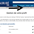 Comment renseigner ma page