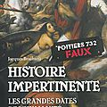 Histoire impertinente : les grandes dates de l'humanité revues et corrigées de jacques braibant