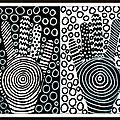 Mains...symétrie en noir et blanc
