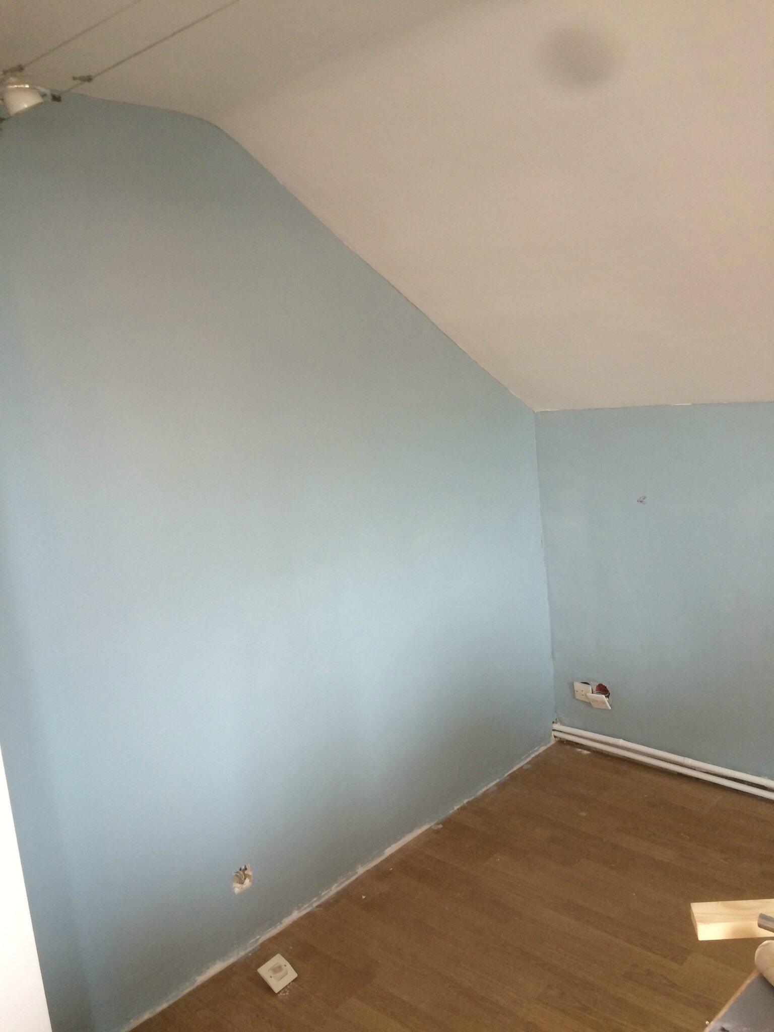 Chambre Peinture Bleu Et Gris: De peinture pour salon rose pâle et ...