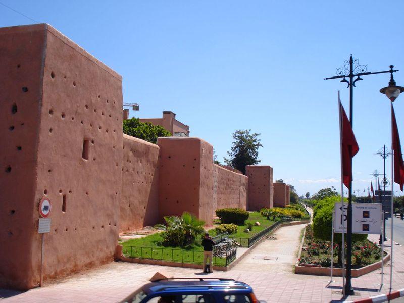 Muraille Marrakech
