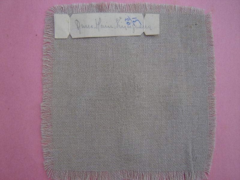 retissage sur étamine de laine
