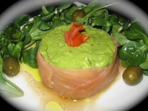 saumon roulé