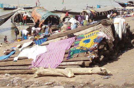 les lavandières MOPTI Mali
