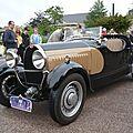 Bugatti type 49 roadster par uhlik 1931