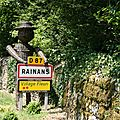 724 Rainans - village label fleuri - les Rainantais