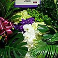 Jolin sends flowers to 张惠妹 amei + 张惠妹 amei performs play我呸 play live