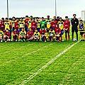Coupe occitanie : pas de miracle pour mes u15