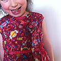 La robe à bonbons...