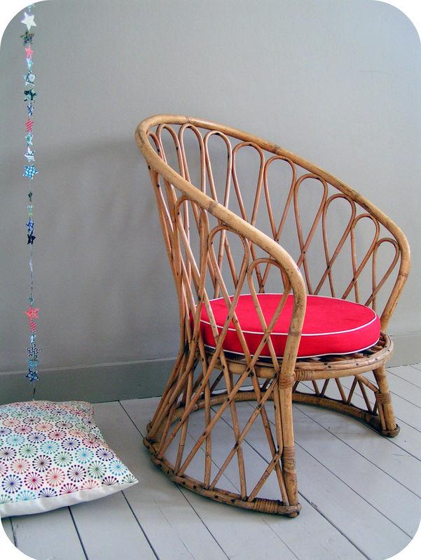 fauteuil osier enfant ann es 50 l 39 atelier du petit parc. Black Bedroom Furniture Sets. Home Design Ideas