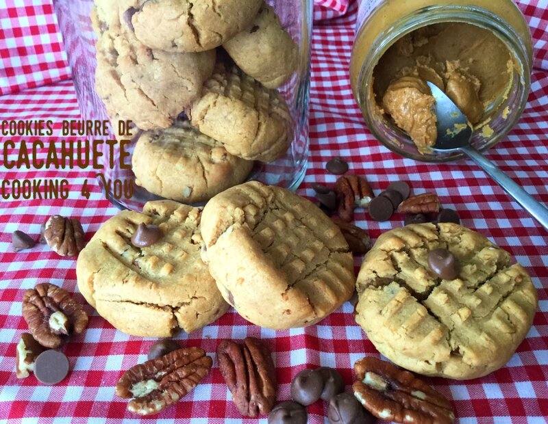 cookies beurre cacahuète 4