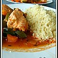 COUSCOUS DE SAUMON - COUSCOUS DE SALMON 