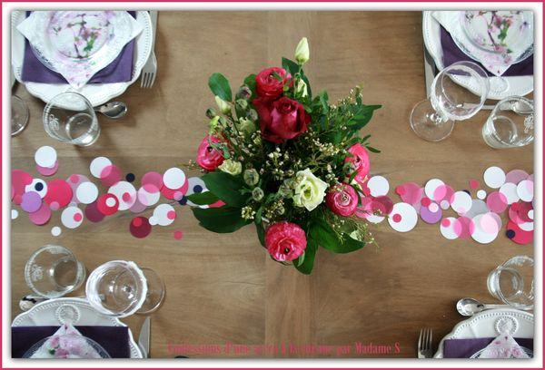 Table Confetti rose et prune 007
