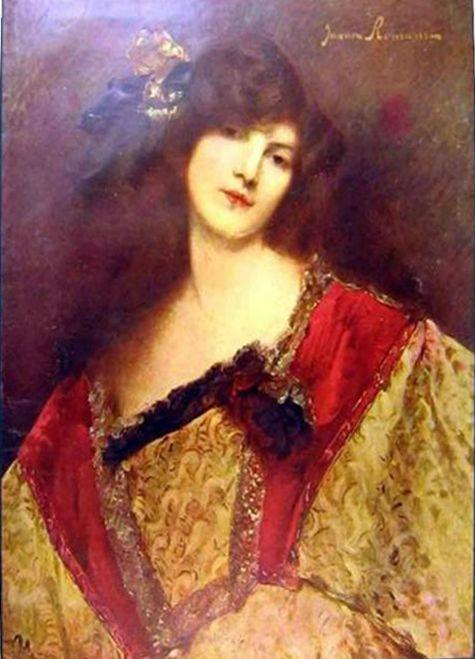 Autoportrait de Juana ROMANI Tableau