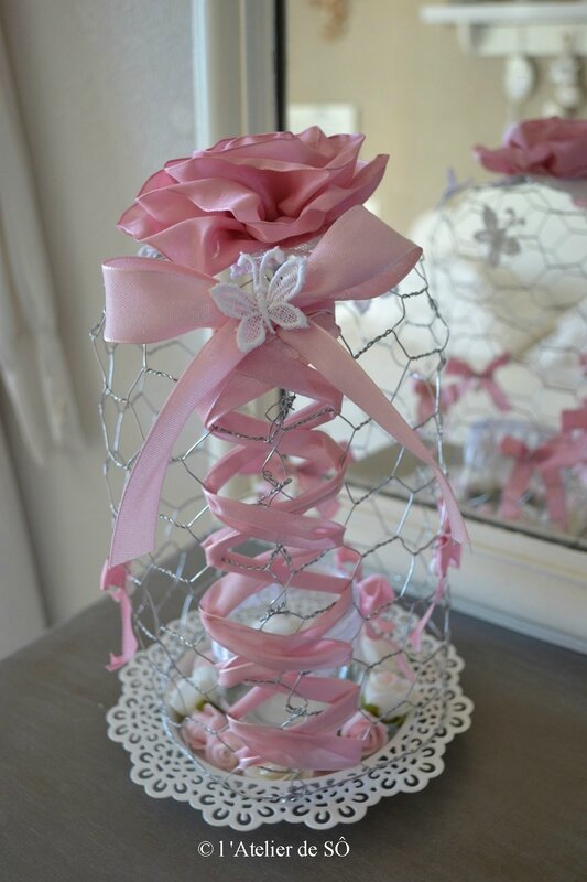 Cage photophore shabby d - 1