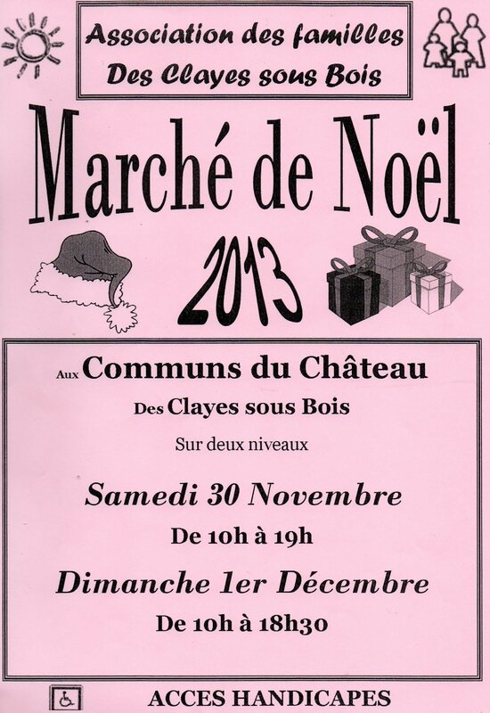 affiche noel clayes001