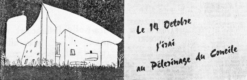 1962 Pélerinage ND du Haut 13 oct Les Dépêc hes 02a