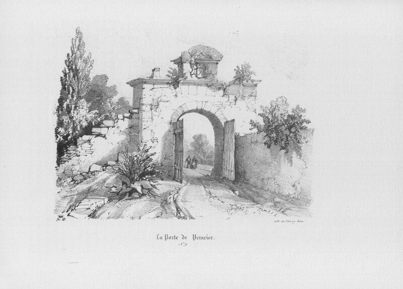 La porte de Péracier