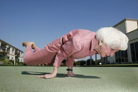 Betty Calman Super Yoga Mamie