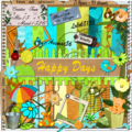 Kit happy days de la ct