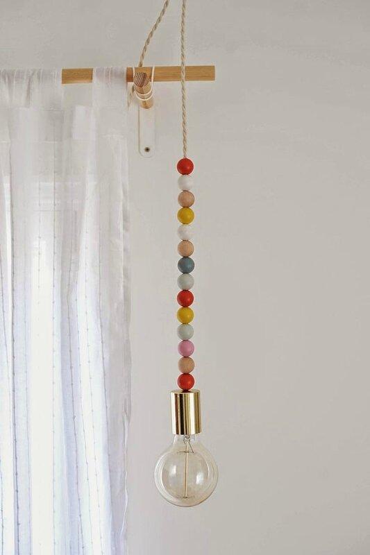 l'ampoule boules colorées