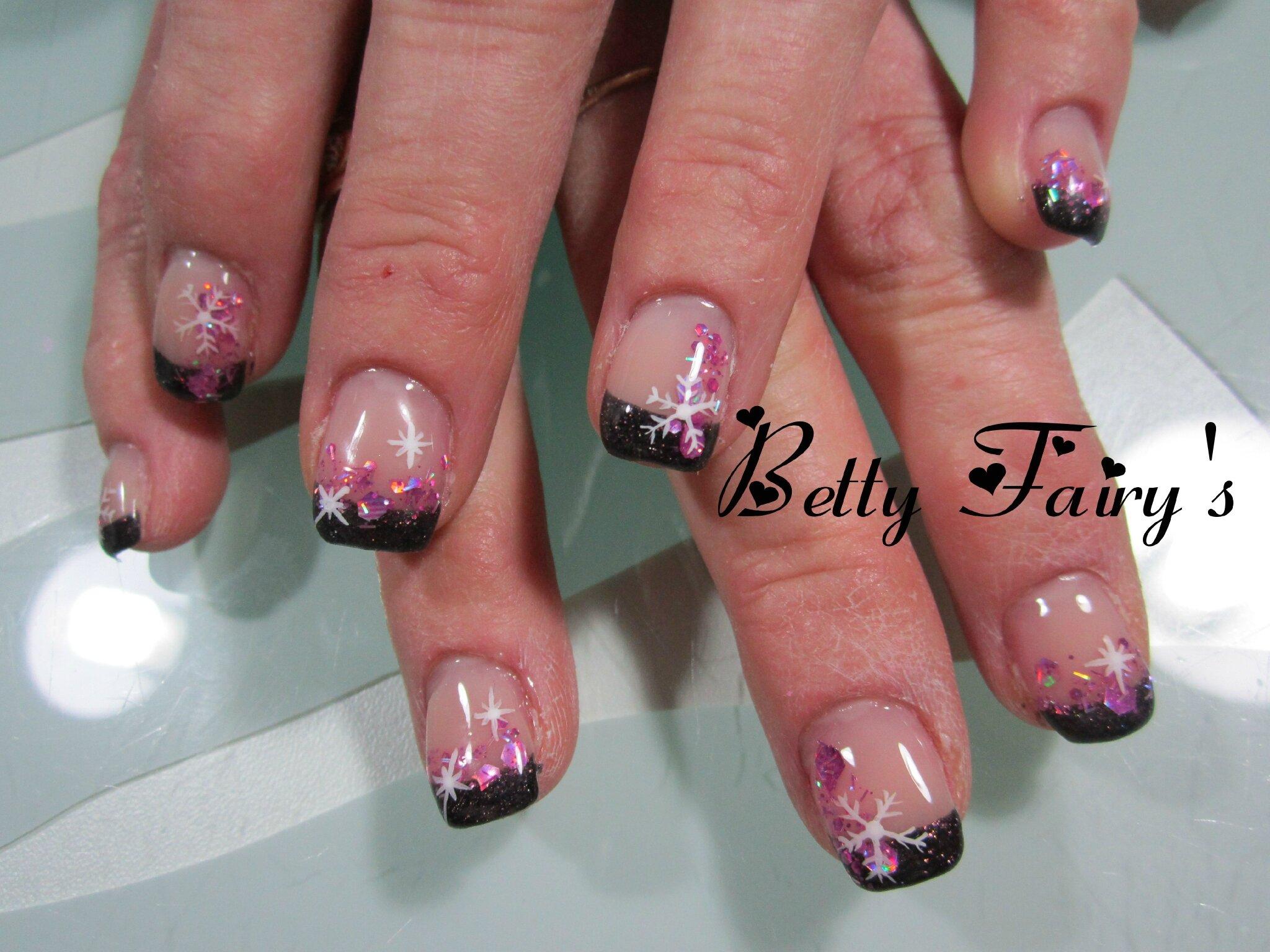 French paillet violet dark paillette multiforme f erique jusqu 39 au bout des ongles - Deco ongle paillette ...