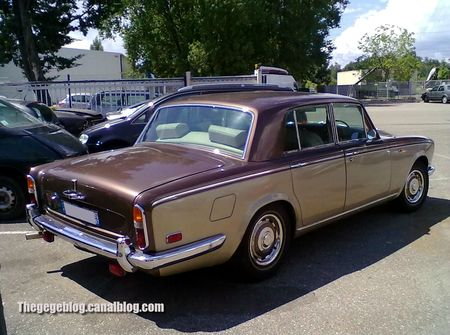 Rolls Royce silver shadow berline de 1977 (Illkirch) 02