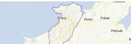 ERQUY - SITUATION