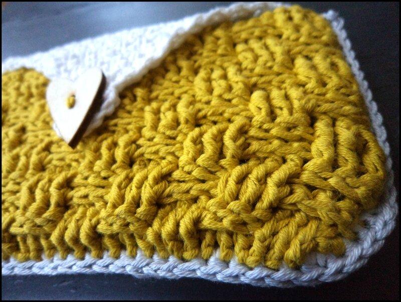 Duo de pochettes au crochet Cam&Drey bricolent