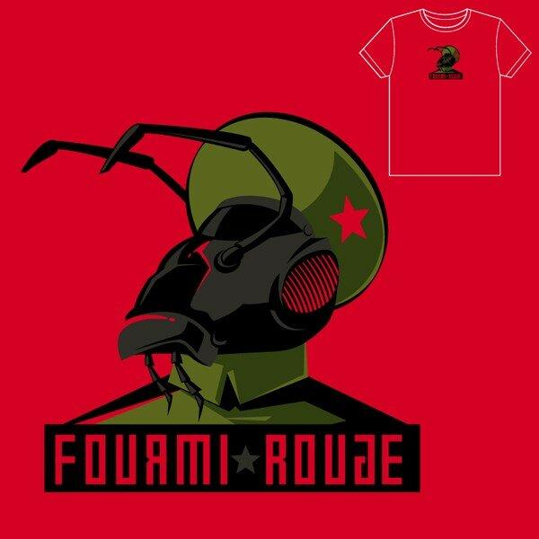 LA FRAISE • Fourmi Rouge