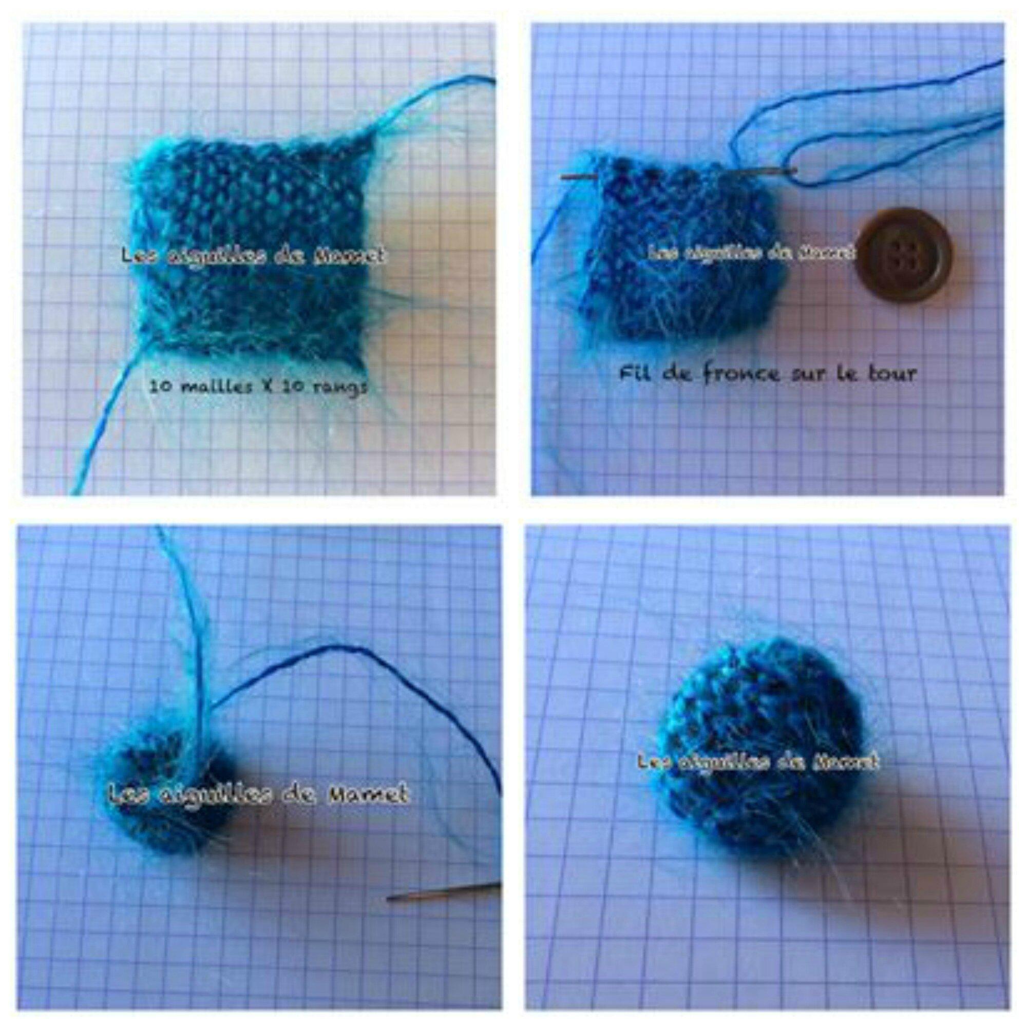 comment faire des boutons au crochet