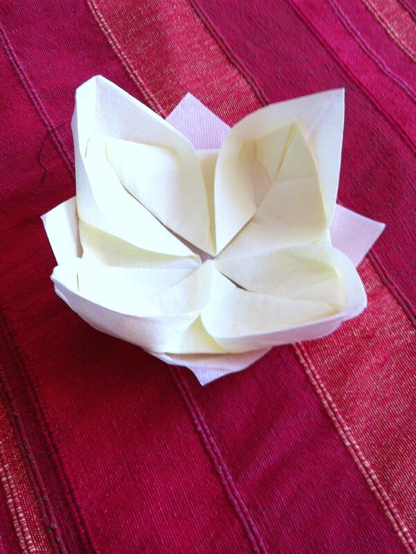 Fleur Lotus ouverte