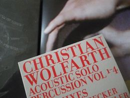 christian wolfarth acoustic solo percussion