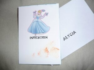 INVITATION FILLE