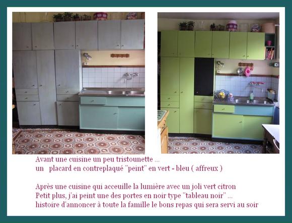 Peindre armoire contreplaqu ma cuisine enfin plus for Cuisine en contreplaque