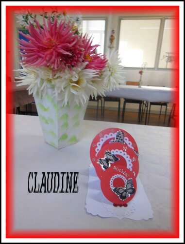 carte CLAUDINE