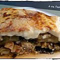 Moussaka de poisson