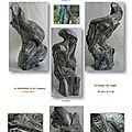 page 6 2013-TOTUM 60 SCHMIMBLOCK'S minor 18cm x 9,5cm acrylique sur argile