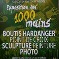 Exposition des 1000 mains - pose ton art - 10-11-12 avril 2015 - le thor (vaucluse)