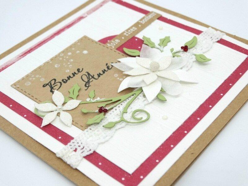 Cartes de Voeux Poinsettia 3