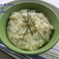 Purée de pommes de terre au cheddar et à la ciboulette, sans gluten