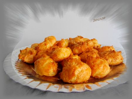 Gougères jambon emmental (1)