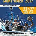 Championnat d'europe de kayak-polo