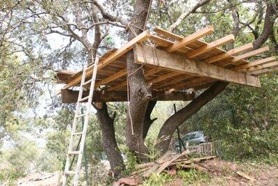 La palette se recycle les astuces patrick for Plan de construction d une cabane en bois