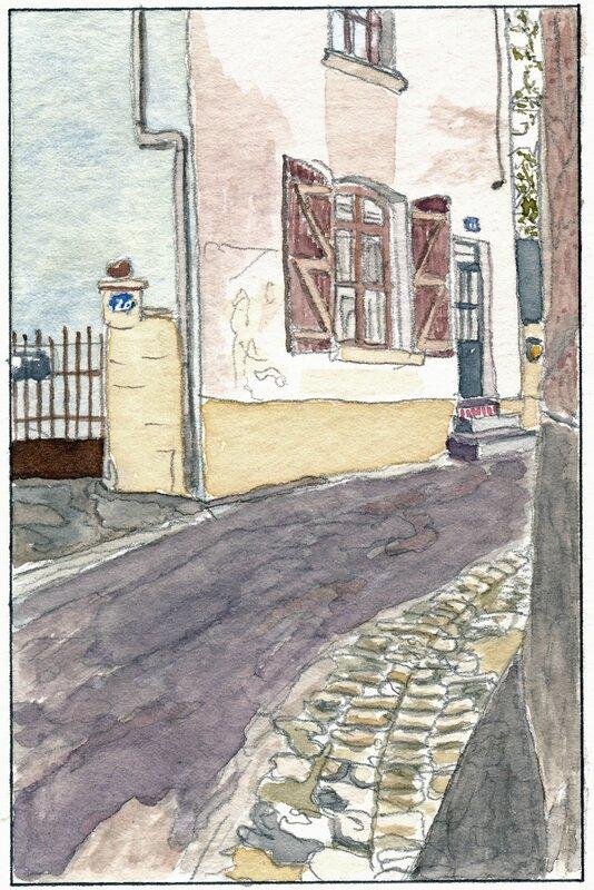 24 Sablé - Maison de la rue Dorée 1992 02 24 (1 de 2)