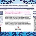 L'apprentissage précoce des langues vivantes est-il efficace ?