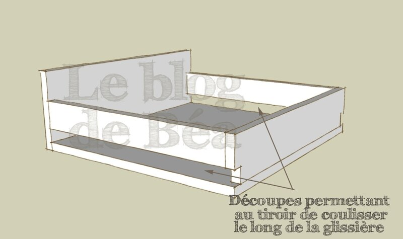 plan pour fabriquer un lit en bois. Black Bedroom Furniture Sets. Home Design Ideas