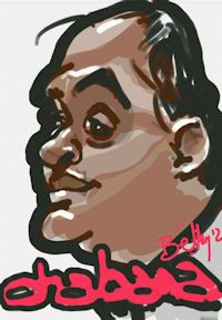 caricature digitale inde
